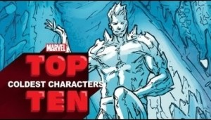 Video: Marvel Top 10 Coldest Characters